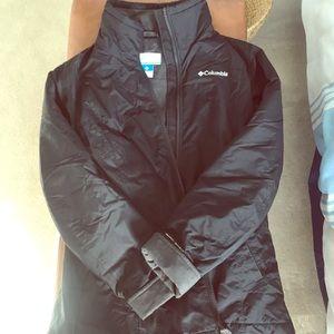 Columbia waterproof light jacket